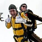 Fem råd til skydiving
